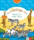 Mein Lieblings-Block Rätsel mit wilden Tieren -
