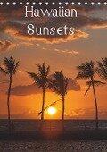Hawaiian Sunsets (Tischkalender 2019 DIN A5 hoch) - Rolf-Dieter Hitzbleck