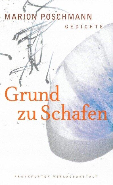 Grund zu Schafen - Marion Poschmann