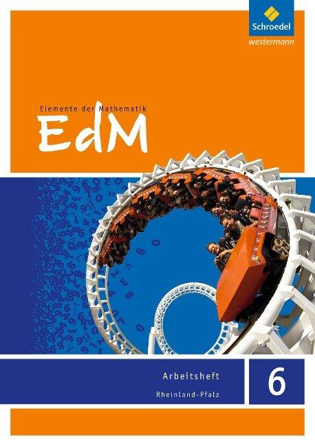 Elemente der Mathematik 6. Arbeitsheft. Rheinland-Pfalz -