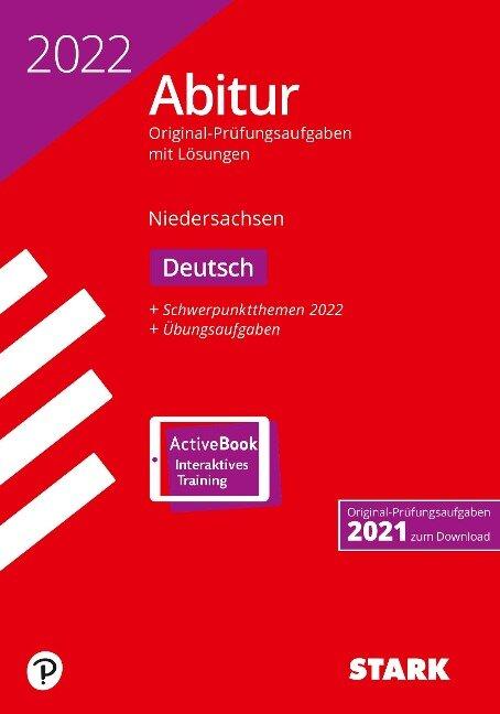 STARK Abiturprüfung Niedersachsen 2022 - Deutsch GA/EA -