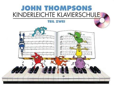 Kinderleichte Kalvierschule Band 2 - John Thompson