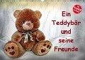Ein Teddybär und seine Freunde (Wandkalender 2019 DIN A3 quer) - Jennifer Chrystal