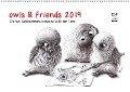 owls & friends 2019 (Wandkalender 2019 DIN A2 quer) - Stefan Kahlhammer