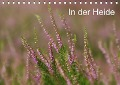 In der Heide (Tischkalender 2017 DIN A5 quer) - Sandra Malz