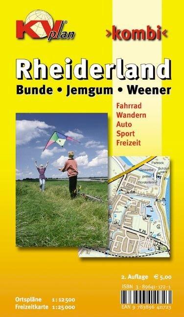 Rheiderland mit Bunde, Jemgum und Weener 1 : 12 500