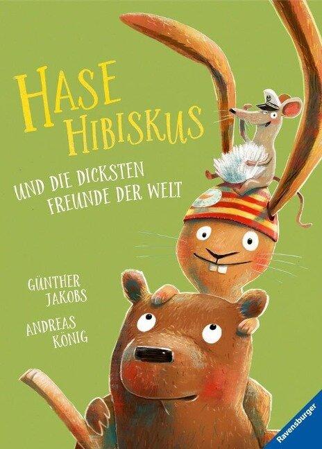 Hase Hibiskus und die dicksten Freunde der Welt - Andreas König