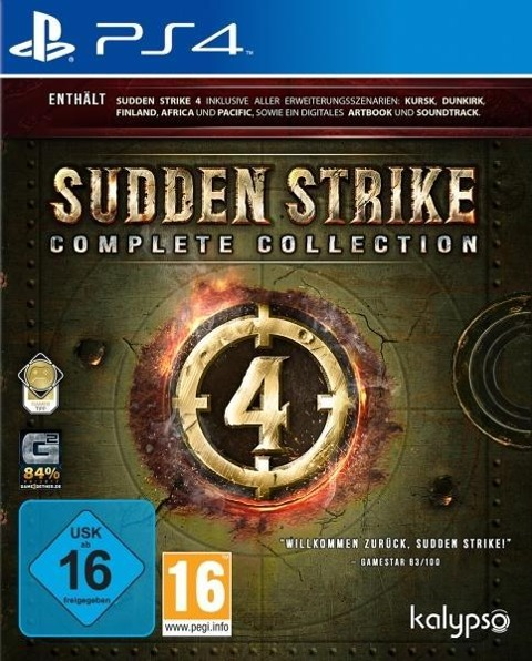 Sudden Strike 4: Complete Collection (PlayStation PS4) -