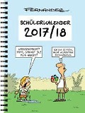 Schülerkalender 2017/2018 - Miguel Fernandez