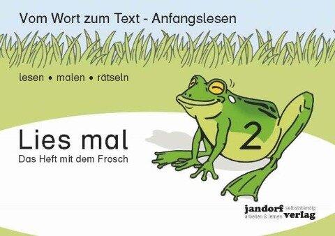 Lies mal 2 - Das Heft mit dem Frosch - Jan Debbrecht, Peter Wachendorf