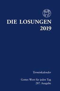 Die Losungen 2019 für Deutschland - Terminkalender -