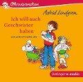 Ich will auch Geschwister haben und andere Geschichten (CD) - Astrid Lindgren, Kay Poppe