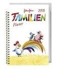 Helme Heine Familienplaner Buch A6 - Kalender 2018 - Helme Heine