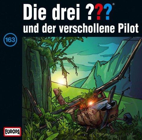 Die drei ??? 163 und der verschollene Pilot (drei Fragezeichen) CD -
