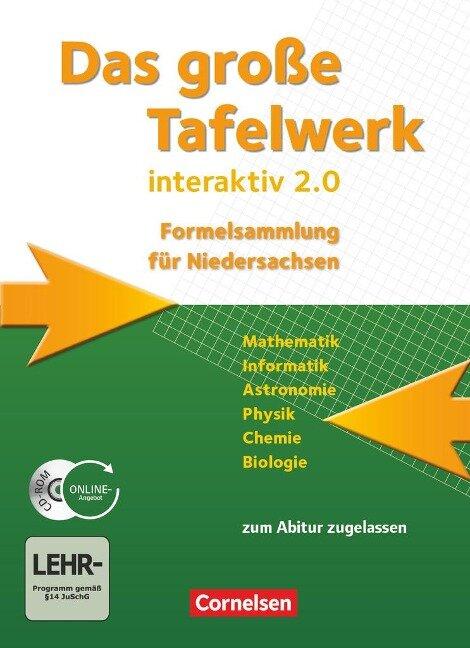 große Tafelwerk interaktiv 2.0 Niedersachsen. Schülerbuch - Willi Wörstenfeld, Rolf Winter, Wolfgang Pfeil, Lothar Meyer, Karlheinz Martin