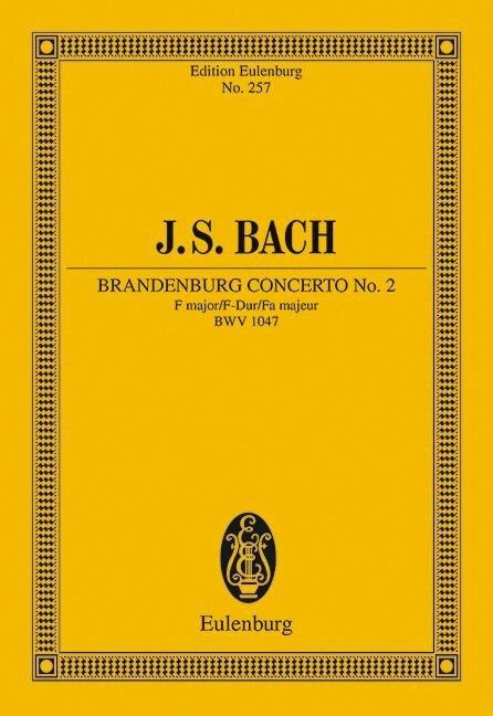 Brandenburgisches Konzert Nr. 2 F-Dur - Johann Sebastian Bach