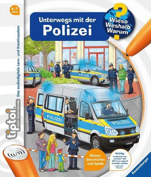 tiptoi® Unterwegs mit der Polizei - Karolin Küntzel