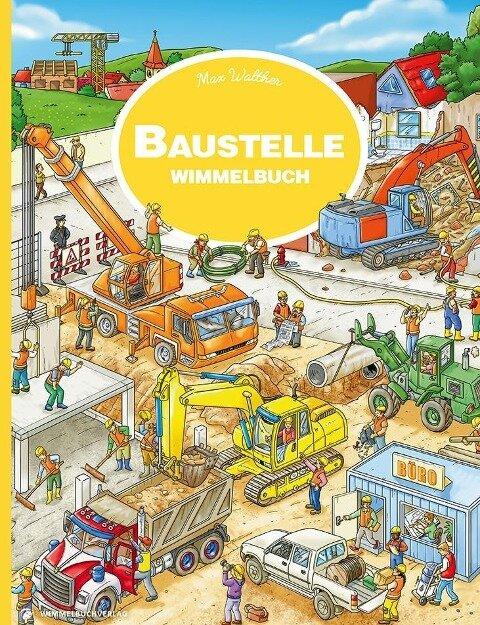 Baustelle Wimmelbuch -