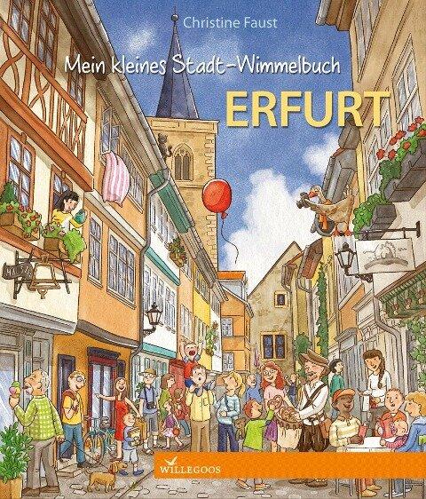 Mein kleines Stadt-Wimmelbuch Erfurt