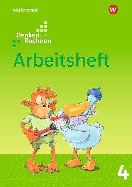 Denken und Rechnen 4. Arbeitsheft. Allgemeine Ausgabe -