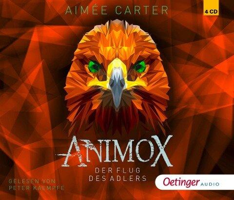 Animox 05. Der Flug des Adlers (4CD) - Aimée Carter