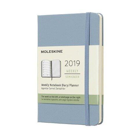 Moleskine 12M Wkly Ntbk Pocket Cinder HD -