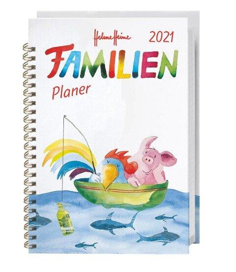 Helme Heine Familienplaner Buch A5 - Kalender 2021 -