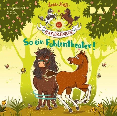 Die Haferhorde 08: So ein Fohlentheater! - Suza Kolb
