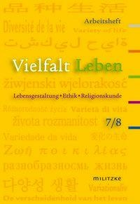 Vielfalt Leben 7/8. Arbeitsheft. Brandenburg -