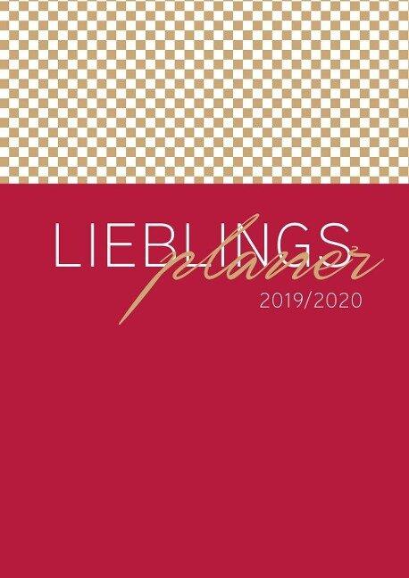 Lehrerkalender 2019/2020 - im Format DIN A4 im eleganten Bordeaux -