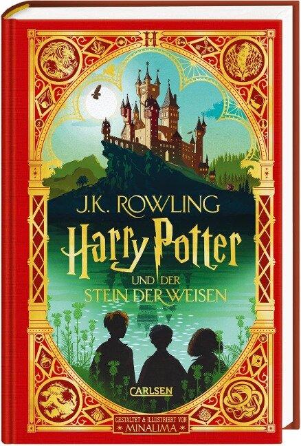 Harry Potter und der Stein der Weisen: MinaLima-Ausgabe (Harry Potter 1) - J. K. Rowling