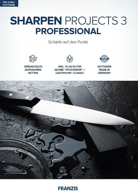 Sharpen projects 3 professional -