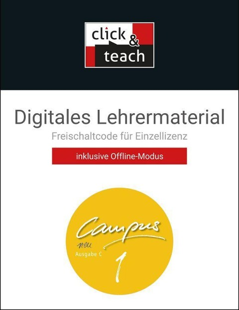 Campus C - neu 1 click & teach Box -