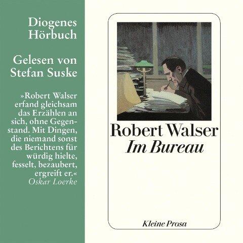 Im Bureau - Robert Walser