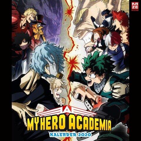 My Hero Academia - Wandkalender 2020 - Kohei Horikoshi