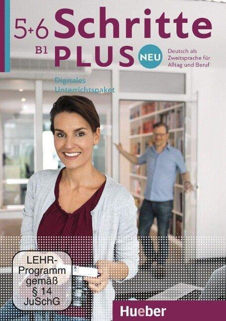 Schritte plus Neu 5+6. Digitales Unterrichtspaket - Silke Hilpert, Marion Kerner, Jutta Orth-Chambah, Anne Robert, Angela Pude