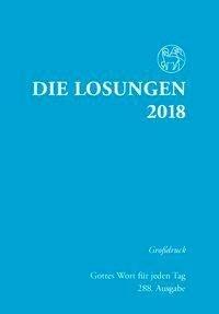 Die Losungen für Deutschland 2018 Grossdruck kartoniert -