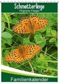 Schmetterlinge: Filigrane Flieger / Familienkalender (Tischkalender 2018 DIN A5 hoch) - Karl-Hermann Althaus