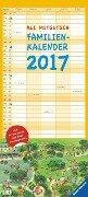 Ali Mitgutsch - Rundherum in Stadt und Land Familienkalender 2017 - Ali Mitgutsch