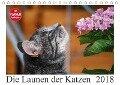 Die Launen der Katzen 2018 (Tischkalender 2018 DIN A5 quer) Dieser erfolgreiche Kalender wurde dieses Jahr mit gleichen Bildern und aktualisiertem Kalendarium wiederveröffentlicht. - Anna Kropf