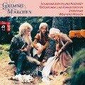 Schneeweißchen und Rosenrot, Brüderchen und Schwesterchen, Sterntaler, Wolf und Mensch - Brüder Grimm