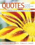 Quotes to Inspire Great Reading Teachers - Cathy Collins Block, Susan E. Israel