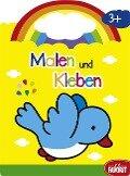 Malen und Kleben - Vogel (ab 3 Jahren) -