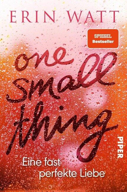 One Small Thing - Eine fast perfekte Liebe - Erin Watt