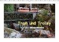 Tram und Trolley auf der Modellbahn (Wandkalender 2018 DIN A3 quer) Dieser erfolgreiche Kalender wurde dieses Jahr mit gleichen Bildern und aktualisiertem Kalendarium wiederveröffentlicht. - Klaus-Peter Huschka
