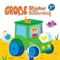 Große Sticker - Auf dem Bauernhof ab 3 J. -