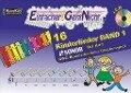 Einfacher!-Geht-Nicht: 16 Kinderlieder BAND 1 - für das SONOR BWG Boomwhackers Glockenspiel mit CD - Martin Leuchtner, Bruno Waizmann