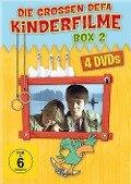 Die grossen DEFA Kinderfilme Box 2 - 4er Schuber - (Insel der Schwäne; Abenteuer mit Blasius; Familie Wirbelwind; Familie Wirbelwind auf Urlaub) -