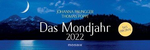 Das Mondjahr 2022 Wochenkalender - Johanna Paungger, Thomas Poppe