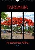 TANSANIA - Kunterbuntes Afrika (Wandkalender 2019 DIN A4 hoch) - Claudia Schimmack